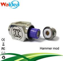 2014 waidea hot selling electronic cigarette mod hammer with 18350 battery hammer kayfun mod