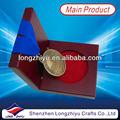 medalha de ouro de madeira caixa de medalha medalha de cobre