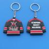 "PVC Black Jersey KeyRing ""SCORPIONS"" for Hockey"