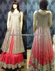 Latest pakistani/indian designer bridal walima lehenga