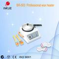 Depilación con cera br-503 más caliente del calentador de la mano de cera más caliente ceradeeliminacióndelpelo olla caliente