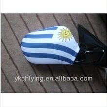 Uruguay rear mirror cover/ side mirror flag/ car mirror cover