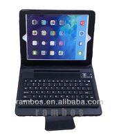 For iPad Air 5 PU Leather Wireless Bluetooth Keyboard Case