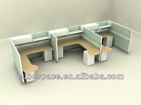 Modern Design Office Furniture Partition and Works,Workstation Partitions Cluster
