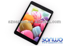 7.85 inch super slim RK3188 ips screen ipad mini style tablet pc