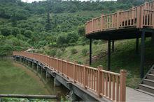 outdoor landscape wood plastic composite WPC fence