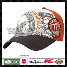 new design trucker cap transfer print cap baseball cap with mesh