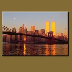 New York Skyline,City Scenes art,Printed Painting