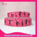 de gimnasia rítmica cinta para decoración hecha a mano