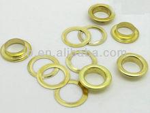 defferent size brass eyelet for shoes in bulk metal eyelet