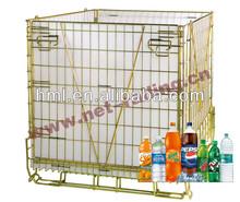 PET preform wire cage displays