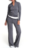 Custom 95% cotton 5% spandex tracksuit woman