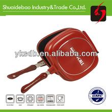 Colorful berndes frying pan