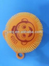 Monkey ShapeToy Round Ball Rubber Ball Solid Bouncy Ballpvc soft pvc ball