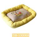Fábrica feita de tecido de algodão/lona/poliéster/de pelúcia dormir pet cama