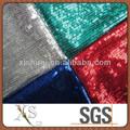 venta al por mayor de colores de la tela de lentejuelas para falda corta