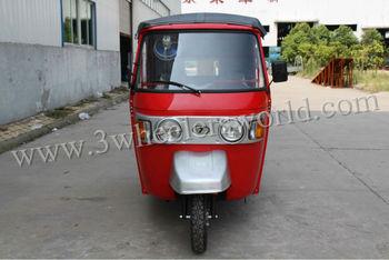 RE205 4 stroke bajaj tvs king three wheeler motorized rickshaw for sale
