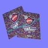 food safe plastic material heat seal food grade bags with zipper