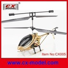 3.5 channel radio control alloy structure rc toy helicopter