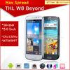 In stock Original 5'' FHD thl w8 beyond quad core 1.5GHz 1GM RAM 16GB RAM Quad core smart phone mtk6589T