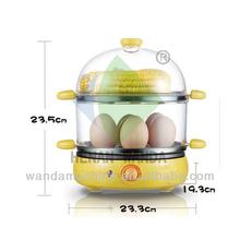 Electric egg boiler steamer cooker