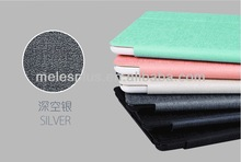 High quality case for iPad5/ Shiny PU Leather Case for iPad Air