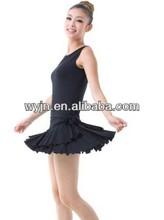 Plus récent au plus haut grade de luxe 2014 mode sexy robe de danse latine salle de bal perlée, costumes de danse orientale