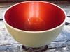 Copper Color Metallic Bowl Up-Right