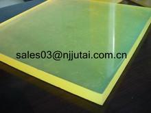 Thick Polyurethane Board Coloured PU Sheet Polyurethane Elastomer Sheet
