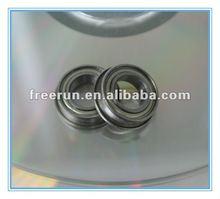 Metric Series Chrome Steel Double Metal Shield Flange Flanged Miniature Ball Bearing 8x14x4mm MF148ZZ