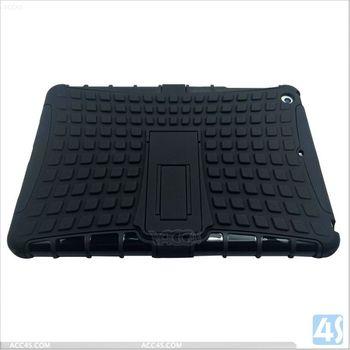 English amzaon kickstand kids proof pc+silicine combo cover case for ipad mini retina