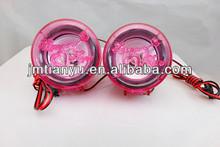 China manufacture high quality 12V moto aluminum audio