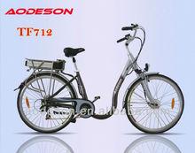EN15194 approved electric bike TF712 with 36V /10AH Lithium battery for elder