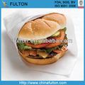 fda aprovou o sanduíche de embalagem natural para o hambúrguer para embrulho