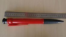 cheap promotional exquiste rubber grip big ball pen