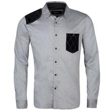 2012 double collar stylish men dress shirt,Fashion new model shirt 100% men's cotton luxury long sleeve dress shirt