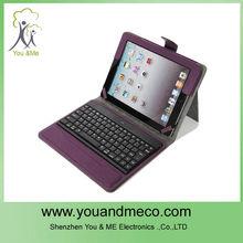 Purple Bluetooth Keyboard Case for Ipad 2 .3 .4