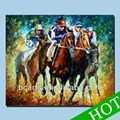Carrera de caballos pinturas, Moderna del arte abstracto de carreras de caballos pintura venta al por mayor, Hechos a mano pintura del arte de la pared