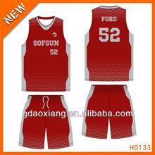 Wholesale kids fashionable basketball wear
