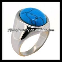 fashion casting metal turquoise rings