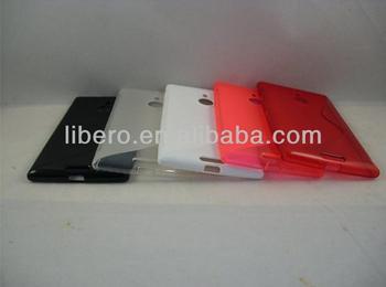 S Line TPU Back Cover Case For Nokia Lumia 1520,High Quality