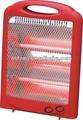 pequeña y tranquila compacto calentador infrarrojo del cuarzo