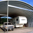 steel structure shed for car parking
