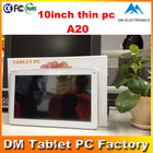 "10"" a20 mini pc android dual core with ce&rohs 2 mini usb tablet 1024*600 cheapest tablet pc"