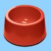 2014 Best Selling Fancy Engraved Red Ceramic Dog Bowl