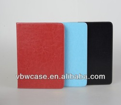 PU leather case for ipad 5 with high quality