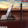 2013 New design ultra slim book-style fllip leather cover case for ipad5