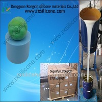Silicon RTV for decorative candle mold making (Condensation series)