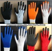 nitrile coated working glove en388 ,nitrile work glove 7G,10G,13G,15G knitting glove