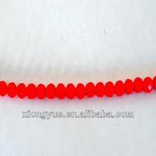 Fashion wholesale red faceted round beads